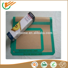 Fabrication en Chine FDA Approval Silicone Baking Mat Non Stick Coated Fiberglass