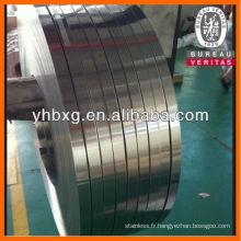 bande d'acier inoxydable 304 pour joint d'aile
