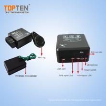 OBD II Car Tracker mit RFID / Bluetooth OBD2 Diagnostic / Wireless Wegfahrsperre (TK228-ER)