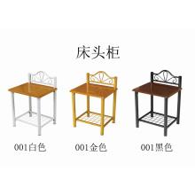 Stand de cama de metal de pintura (001 #)