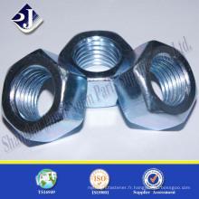 DIN 934 Acier au carbone Hot Dip Hexagonal Nut