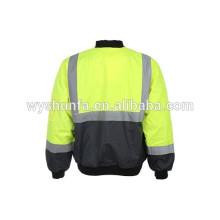 reflective winter safety reflector jacket uniform winter jacket