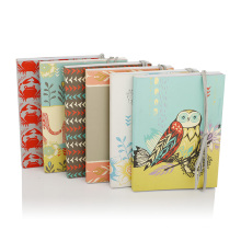 Wholesale Custom Pop Promotional Stationery Soft Cover Stone Paper Notebook