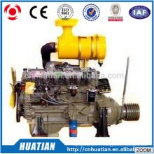 Weifang Weichai R6105AZLP110kw / 150hp / 1500rpm Usine de moteurs diesel