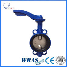 Low price top sale high quality 3-pc sanitary butterfly valve