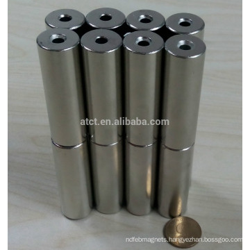 Permanent Block Neodymium Cylinder Magnet
