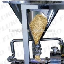 WPL haute efficacité en poudre en acier inoxydable et doseur d'eau