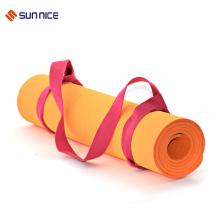 Tapis de yoga antidérapant réglable en coton