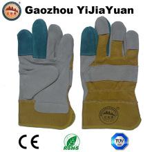 Leather Labor Safety Working Work Gloves
