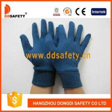 Тёмно-синяя хлопчатобумажная перчатка Dch216