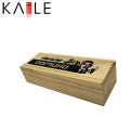 Mini Domino de marfil de madera con puntos negros al por mayor