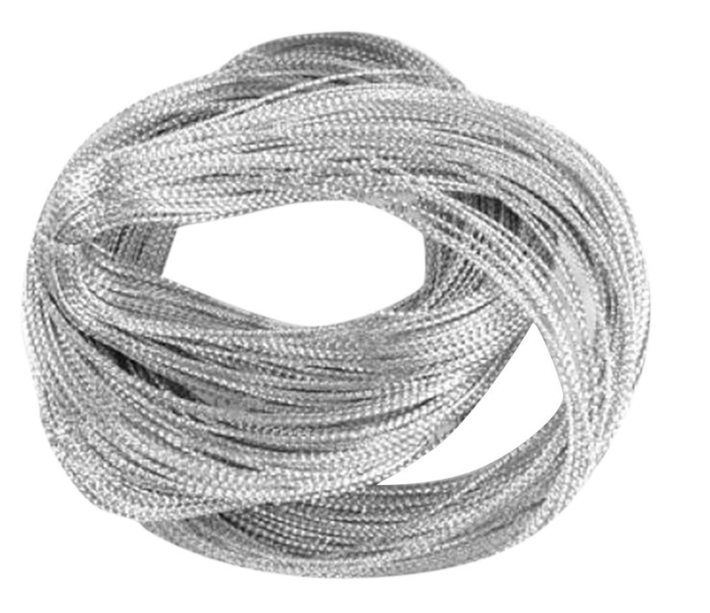 Silver cord for packaging