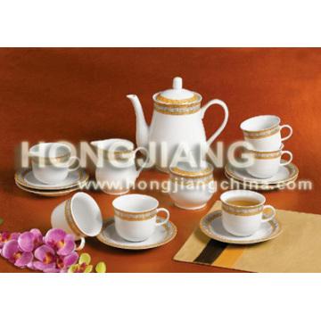 Набор чая 17pcs (ЗОЛОТОЙ ДЕКОР)