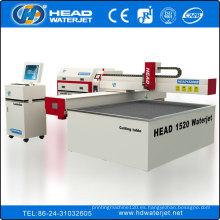 Máquina de corte de chorro de agua de alta presión para baldosas de cerámica / baldosas de suelo