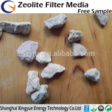 Natural zeolite granules for water treatment feed additives
