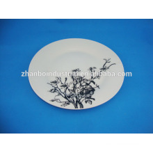 10.5 inch cheap bulk ceramic dinner plate