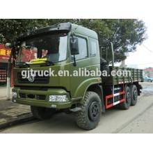 Dongfeng 6X6 hors camion militaire de boîte de cargaison de route pour le chargement résistant