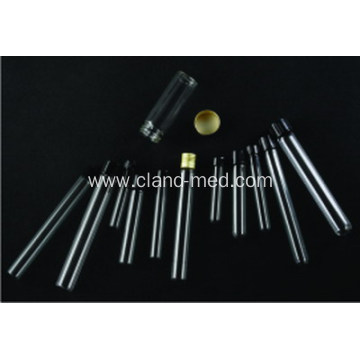 Medical Glass Test Tube With Screw Cup