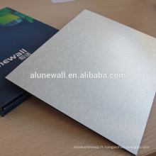 Panneau arrière en aluminium composite de Plastice