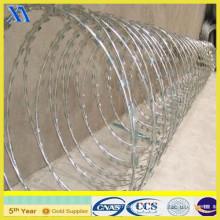 Galvanized Razor Wire Flat Wrap (XA-GW017)