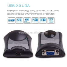 USB 2.0 to VGA Video Graphics Adapter for Multiple Displays up to 1920x1080