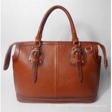 Guangzhou Supplier Genuine Leather Ladies Handbag Bag (195)