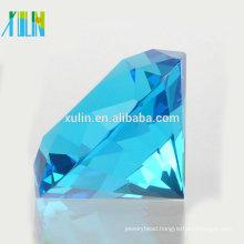Charm aquamarine Crystal Diamond Jewelry Wedding favors