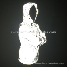 bright 3m reflective rain jacket coat hight visibility outerwear