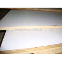 double sided laminated faced melamine plywood woodboard