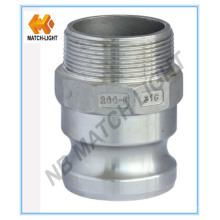 Stainless Steel Precision Casting Male BSPT Threaded Camlock Coupling