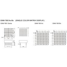0.7 Inch, 1.9mm DOT (GNM-7881Ax-Bx)