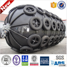 Pára-choques de borracha marinhos pneumáticos da venda direta da fábrica para o barco, navio, embarcação