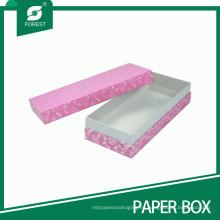 Cajas de regalo rosadas al por mayor de la fábrica para el embalaje de la joyería