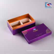 High popularity luxury promotional cardboard cake packaging box