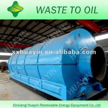 ligne de recyclage en plastique de rebut de production élevée d'huile avec le CE et l'OIN
