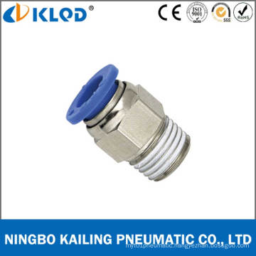 Pneumatic Male Straight One Touch Tube Fittings for Air PC10-01