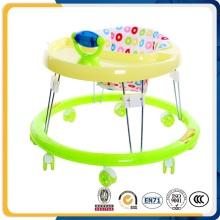 Cadre en métal Silicon Wheels Round Baby Walker