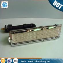Malla de alambre tejida FeCrAl de malla 30 de 50 mallas de alta temperatura para dispositivo de infrarrojos