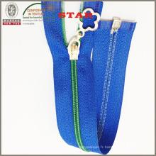 Zipper en nylon couleur pour bagage (# 3)