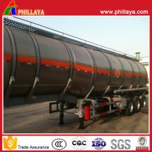 Fuel Tanker Truck Semi Trailer Stainless Steel Tank