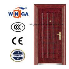 Iran Farbe Sicherheit Metall Außen Stahl Eisen Tür (WS-119)