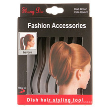 Bump It up Volume Hair Clip Comb for Ponytail (HEAD-10)