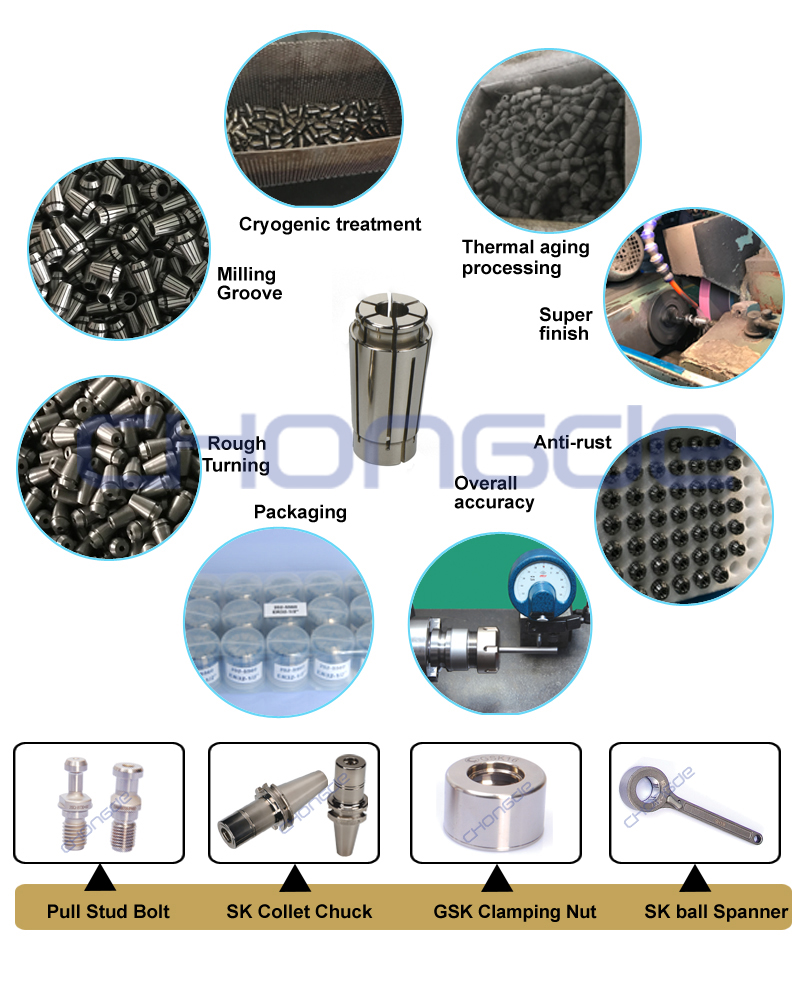 High Quality SK machine Collet