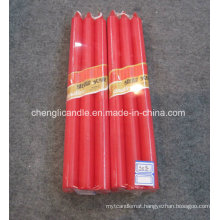 Wholesale Paraffin Wax Big Red Color Stick Pillar Wedding Candles