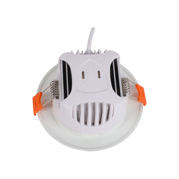 7W verstellbare versenkte Cob Decke PC LED DownLight
