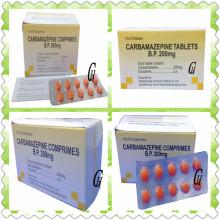 Antiepilepsia Carbamazepina Comprimidos 200mg