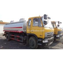 Camión del tanque de combustible del motor de 4 * 2 dongfeng 170HP 10000L
