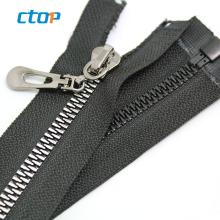 fancy key lock slider custom decorative zipper pulls wholesale garment bag long chain plastic zipper roll