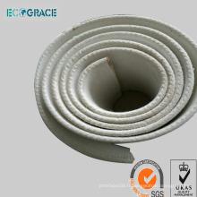 Courroie transporteuse à air comprimé pour industrie du ciment