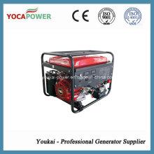 Generador de la gasolina de la energía de la sola fase 6.5kVA de 50Hz